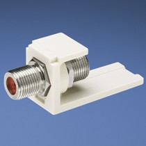Coupler Module, F-Type, White