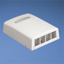 NK 4-port surface mount box