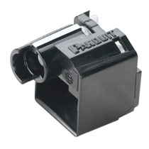 Super Recessed Lock-In Device, Ten Devices (Black) and One Tool (Black)