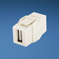 NetKey USB 2.0 Female A/Female A Coupler - Electric Ivory