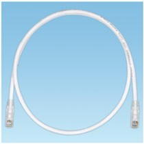 Copper Patch Cord, Category 6, Off White UTP Cable, 20 Feet