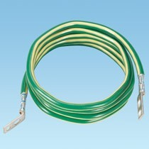 Telecom Equipment Bonding Conductor (TEBC) Kits, Jumper Pre-Terminated on Both Ends