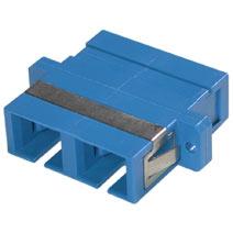 SC Female to SC Female Duplex Fiber Optic Adapter