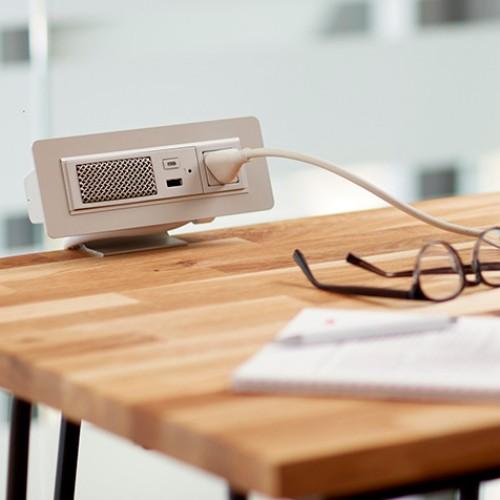 bluetooth speaker desk outlet