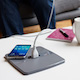 HQ Wireless charger dual pad in use