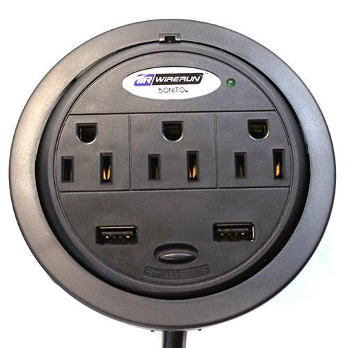 WireRun Bonito Power Grommet