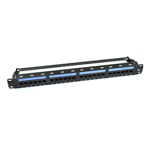 CAT6 Patch Panel Front View