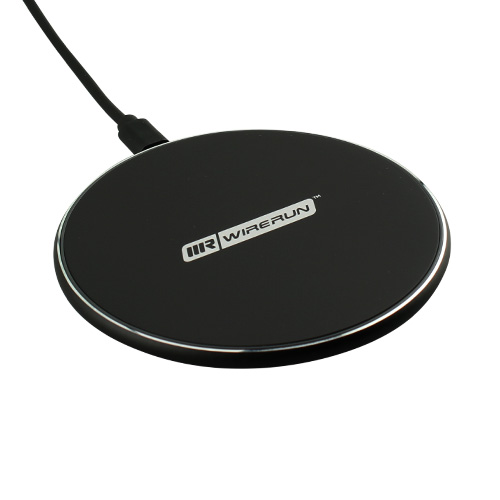 10W Wireless Charging Pad with built-in Blue and Red Halo Light