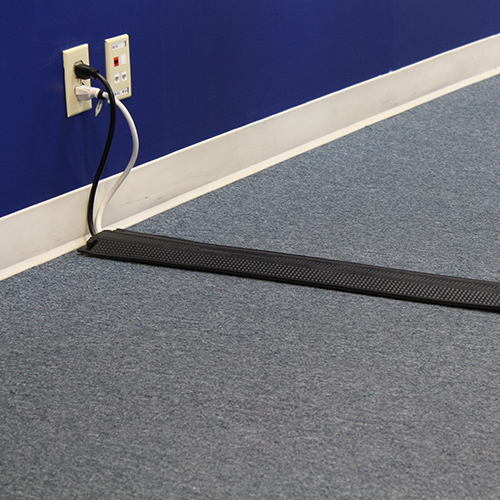 Dropover coming out from an electrical outlet