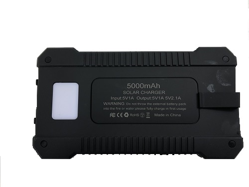 Solar Charger Back