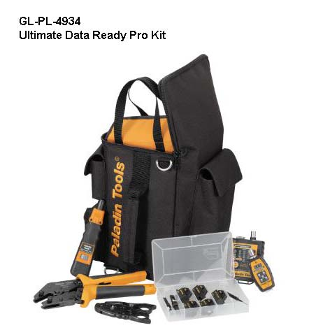 Paladin Tools Ultimate DataReady Pro Kit components with case - icon