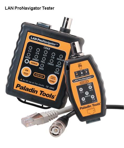 Paladin Tools Ultimate DataReady lan pronavigator tester front view - icon