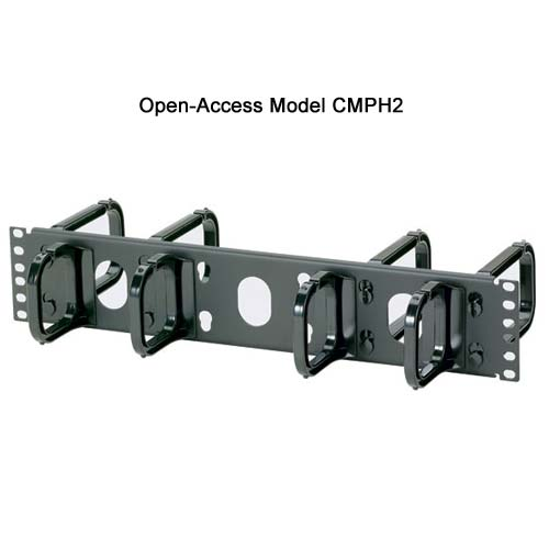 Panduit Open Access Horizontal D-ring Cable Manager cmph2 - icon
