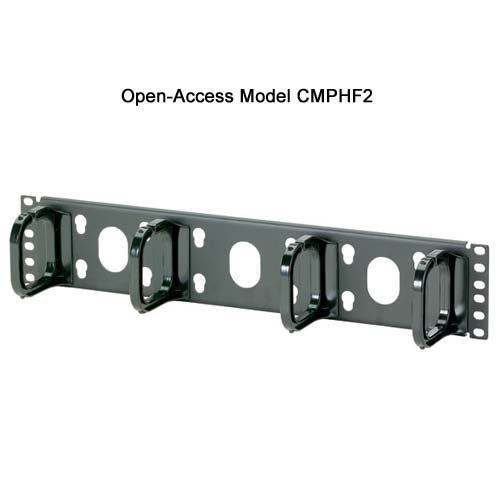 Panduit Open Access Horizontal D-ring Cable Manager cmphf2 - icon