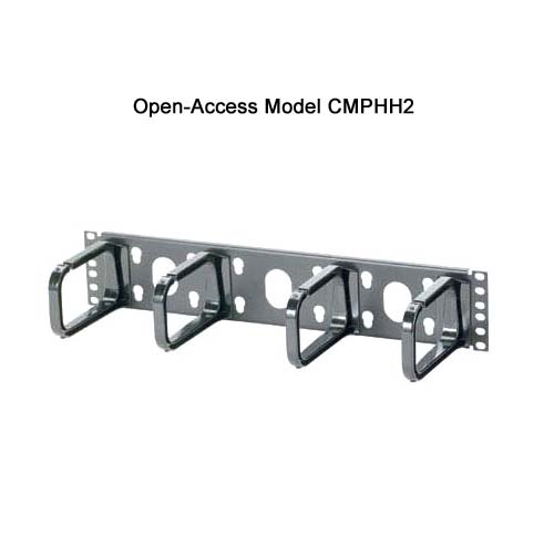 Panduit Open Access Horizontal D-ring Cable Manager cmphh2 - icon