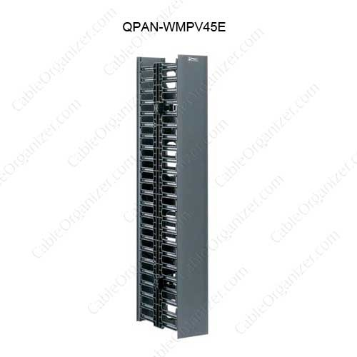 Panduit NetRunner Vertical Cable Manager front and rear - icon