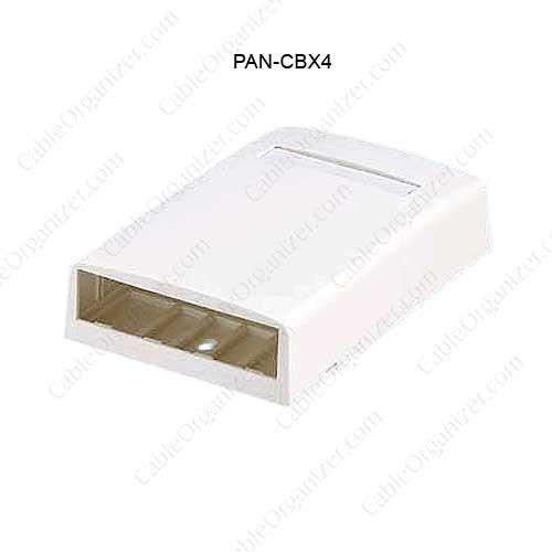 Panduit® Mini-Com® Surface Mount Boxes, CBX4 - icon