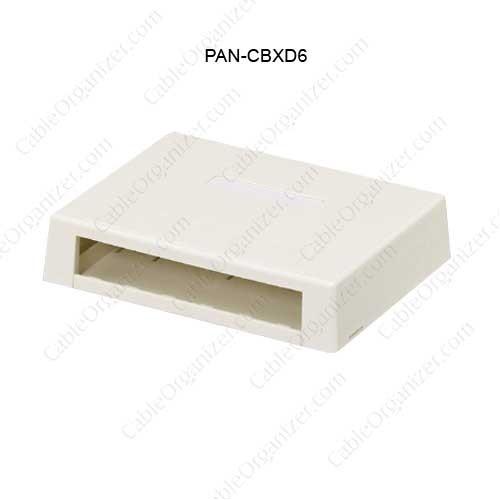 Panduit® Mini-Com® Surface Mount Boxes, CBXD6 - icon