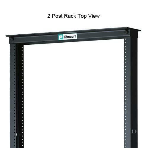 Panduit Standard 2 Post Rack, top view - icon