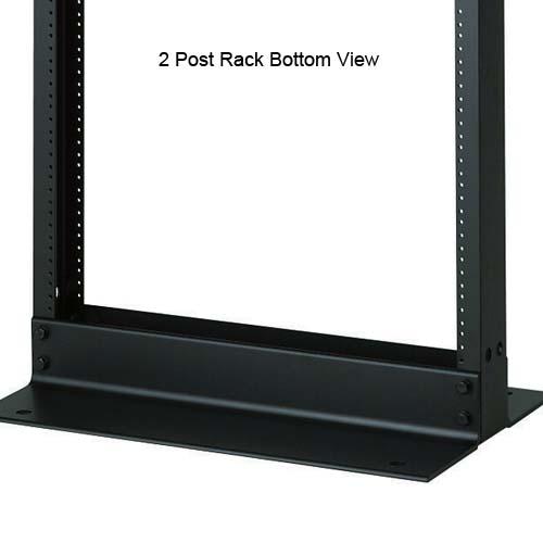 Panduit Standard 2 Post Rack, bottom view - icon