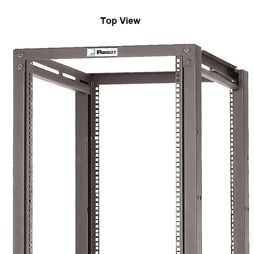 Panduit 4 Post Adjustable Depth Rack, top view - icon