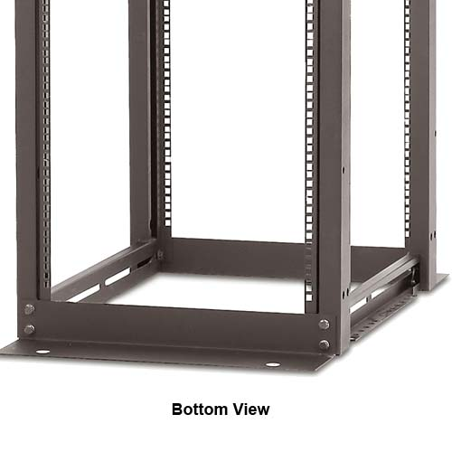 Panduit 4 Post Adjustable Depth Rack, bottom view - icon