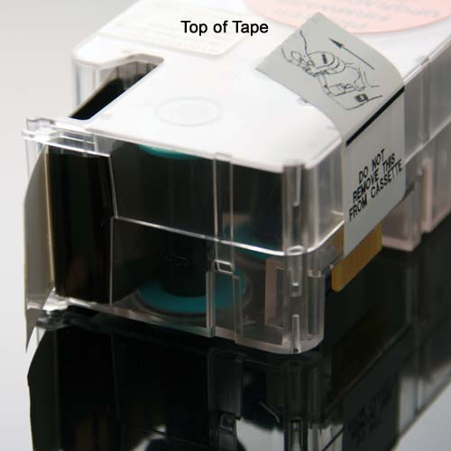top of tape in PANDUIT P1 Die-Cut Heat Shrink Label Cassette - icon