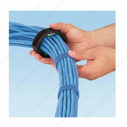 Panduit Cable Bundle Organizer Tool Application example