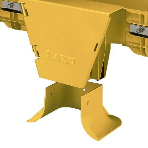 PANDUIT FiberRunner 4 inch by 4 inch Cable Routing System vertical tee - icon