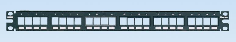 Panduit NetKey® Flush Mount Modular Patch Panels  PAN-NKPP24FMY