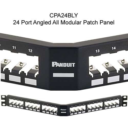 Panduit Mini-Com 24 port angled All Metal Shielded Modular Patch Panel - icon
