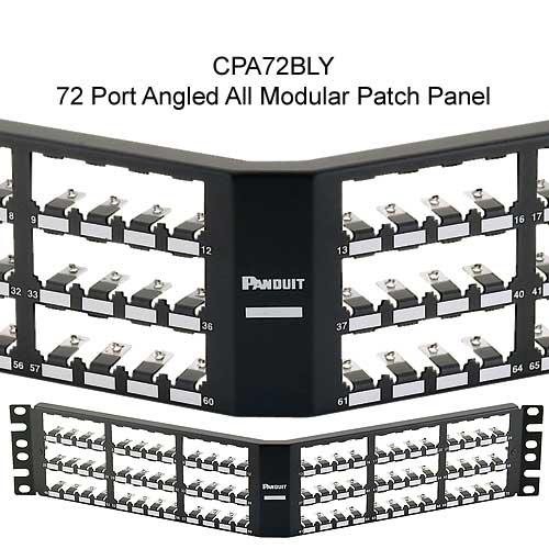 Panduit Mini-Com 72 port angled All Metal Shielded Modular Patch Panel - icon