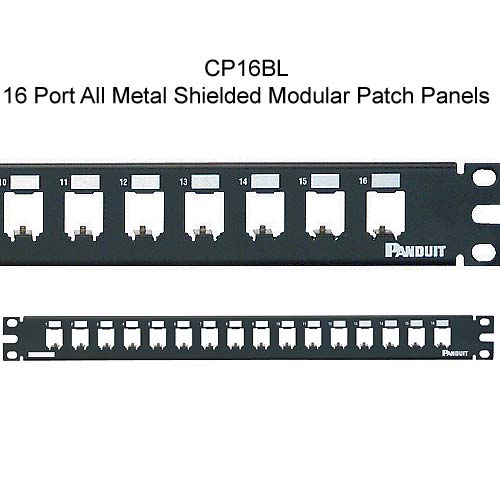 Panduit Mini-Com 16 port All Metal Shielded Modular Patch Panel - icon