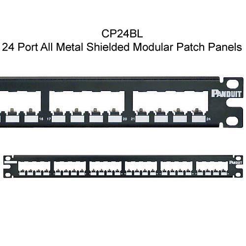 Panduit Mini-Com 24 port All Metal Shielded Modular Patch Panel - icon