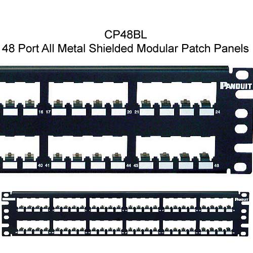 Panduit Mini-Com 48 port All Metal Shielded Modular Patch Panel - icon