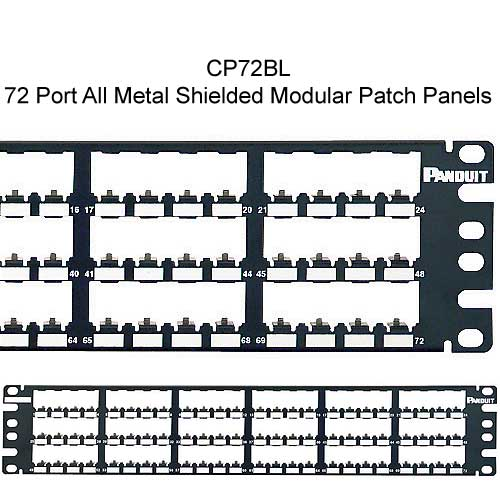 Panduit Mini-Com 72 port All Metal Shielded Modular Patch Panel - icon