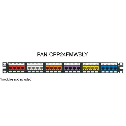 Panduit Mini-Com 24 port Flush Mount Modular Patch Panel - icon