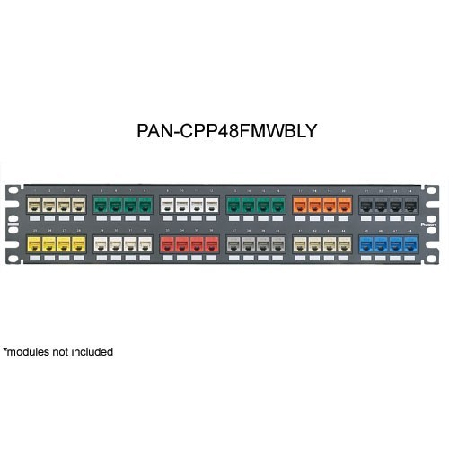 Panduit Mini-Com 48 port Flush Mount Modular Patch Panel - icon