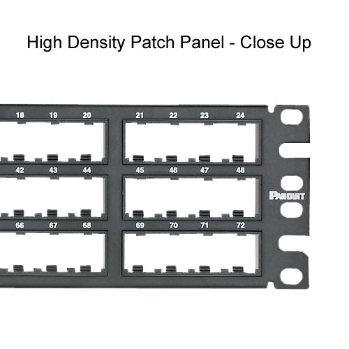 close up of Panduit Mini-Com High Density Modular Patch Panels - icon