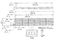 specs for patch panel with faceplates