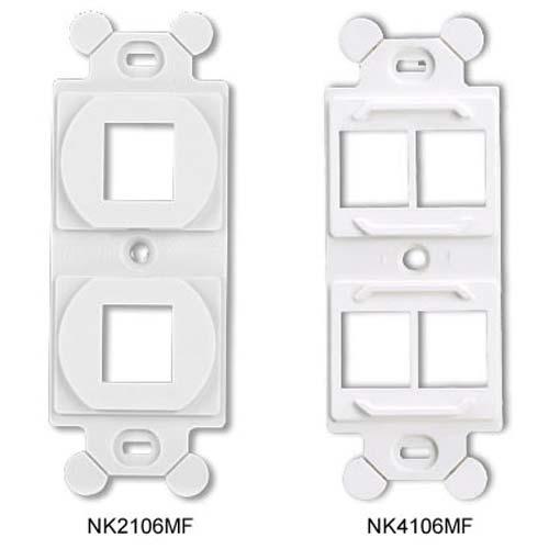 Panduit NetKey Modular Frames models nk2106mf and nk4106mf - icon