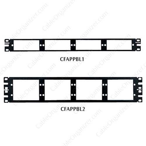 Panduit NetKey® Fiber Adapter Patch Panels