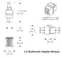 LC Adapter Module Diagram