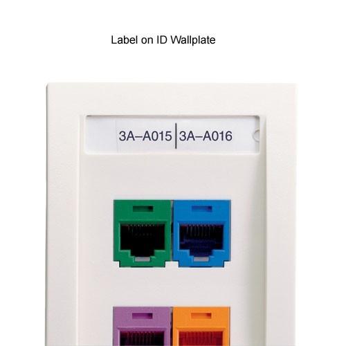 Panduit® P1™ Network Component Label Cassettes