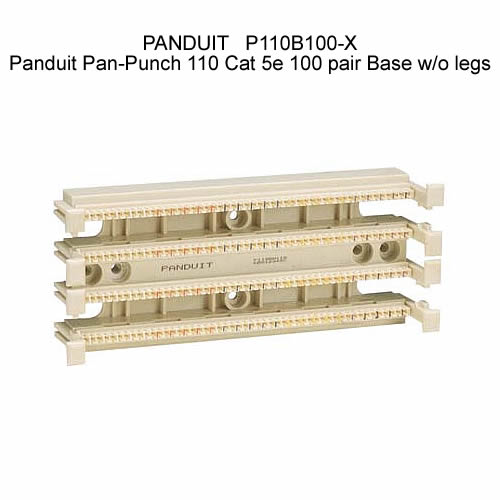 Panduit Pan-Punch 110 Cat 5e 100 pair Base w/o legs - icon