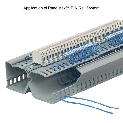 Panduit PanelMax DIN Rail Duct application - icon