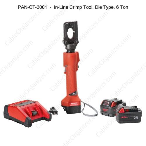 Panduit Lithium-Ion Powered Crimping Tools