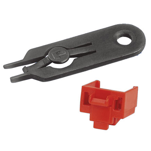 Panduit RJ45 Jack module Blockout and one removal tool - icon