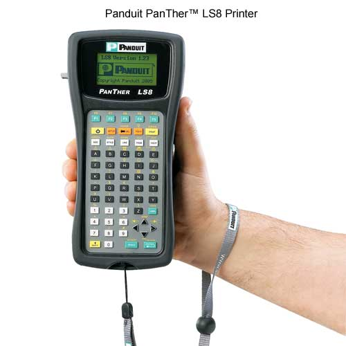 Panduit PanTher LS8 Label Maker front view