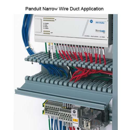 Panduit HN Narrow Slot Wire Duct Application